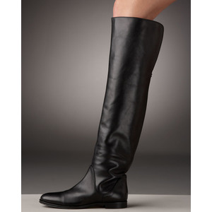 Sergio Rossi knee-length flat boots cheap sale shop offer sale ebay sale Cheapest outlet lowest price amazing price sale online 384sz