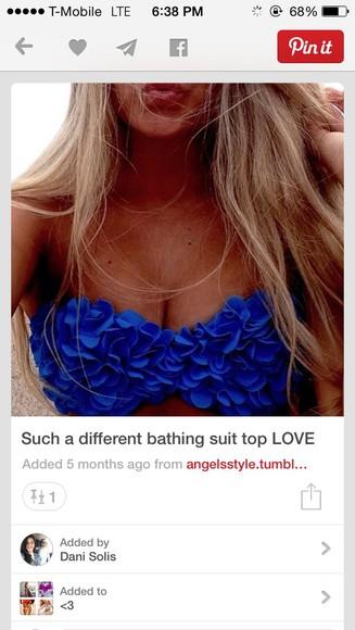 swimwear floral swimwear bikini top