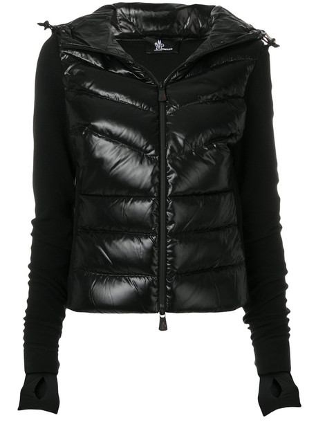 MONCLER GRENOBLE jacket women spandex black