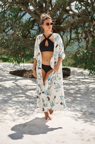 dress kimono resort wear bikiniluxe maxi dress