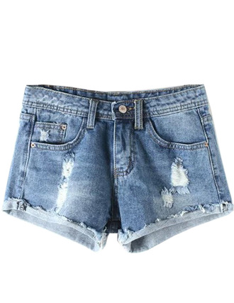 shorts brenda-shop destroyed denim acid washed skinny jeans denim jeans ripped jeans ripped shorts blue summer beach