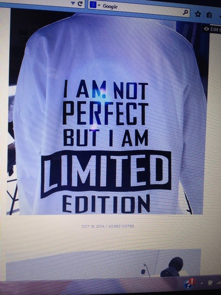 quote on it limited edition