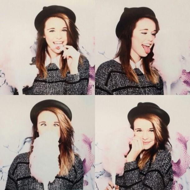 sweater acacia brinley cotton candy hat