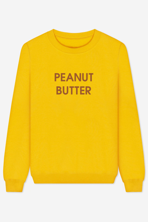 Rad peanut butter sweater throwback everyday for Peanut butter t shirt dress
