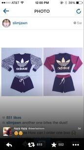 adidas,adidas sweats,adidas shorts,adidas sweater,top,red,burgundy,gold,black,white,leopard print,jumpsuit,short shorts,short,shorts,sweater,jumper,jacket,sweatshirt,instagram,slim jawn,@slimjawn