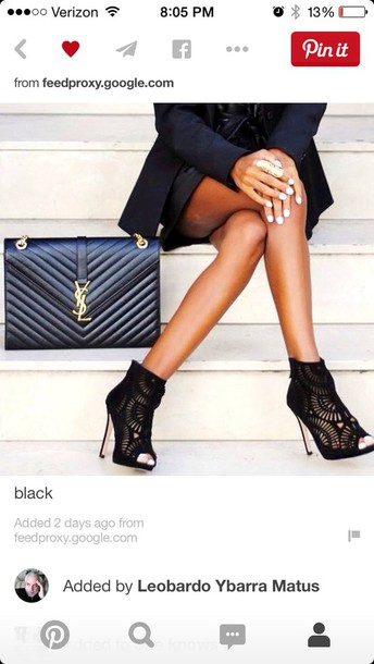 shoes black heels high heels pumps