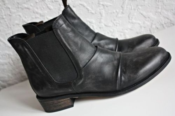 Ladies Black Flat Pixie Womens Ankle Chelsea Boots Size 3 4 5 6 7 8