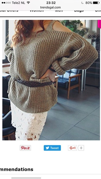 sweater knitwear fashion style fall outfits trendy warm trendsgal.com