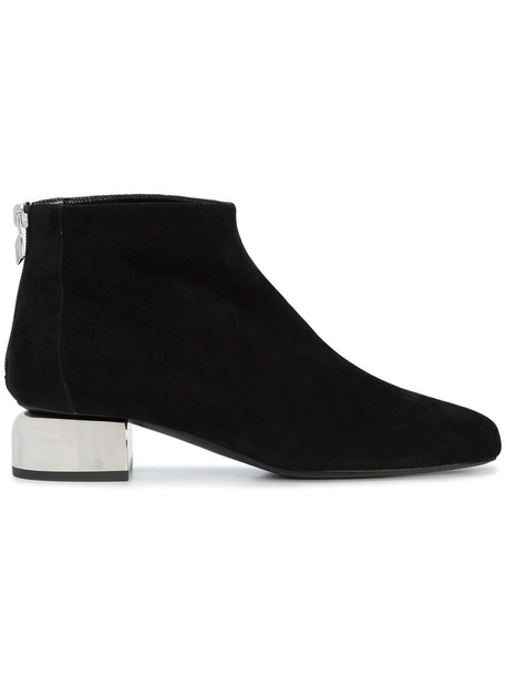 Pierre Hardy heel women ankle boots leather black shoes
