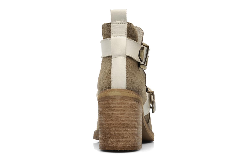 Janik Jonak (Beige) : livraison gratuite de vos Bottines et boots Janik Jonak chez Sarenza