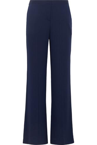 pants silk navy