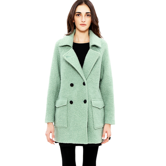 coat caot fashion winter coat beautiful shopping girl women prefect