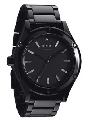 Nixon A343-150  Watches,Men's Camden Black Dial Black IP Stainless Steel, Men's Nixon Quartz Watches