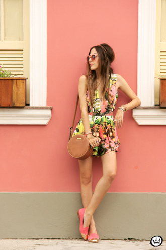 fashion coolture blogger romper summer outfits print