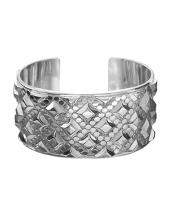 Anna beck silver distinction cuff