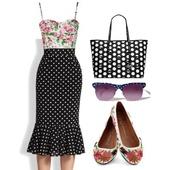 skirt,polkadottedskirt,high waisted skirt,polka dots,midi skirt,vintage skirt