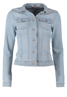 ONLY WESTA - Jeansjacke - light blue denim - Zalando.de