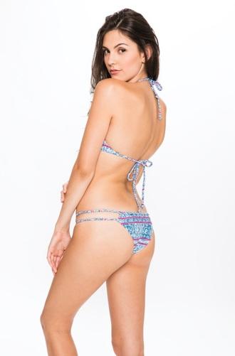 swimwear frankies bikini skimpy cheeky bikini bikini bottoms print braided straps low rise bikini bottom braided cheeky braided bikini bottom