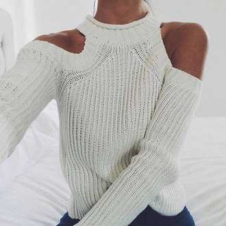 sweater white sweater off the shoulder sweater turtleneck sweater cute weheartit christmas christmas sweater outfit