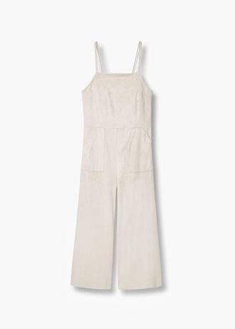 jumpsuit cream white jumpsuit