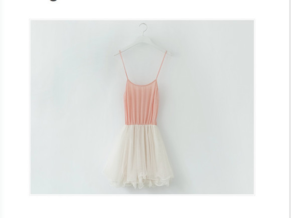 dress white pink tutu ballerina