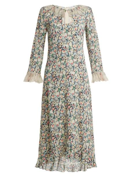 dress chiffon dress chiffon ruffle silk