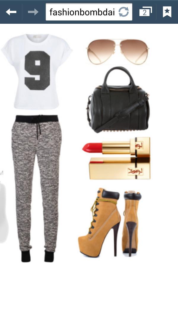 pants cute pants high heels brendaastyles94