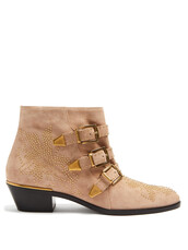 suede ankle boots,ankle boots,suede,light pink,light,pink,shoes