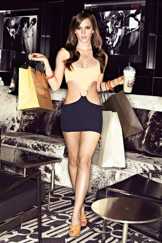 swimwear emma watson dress