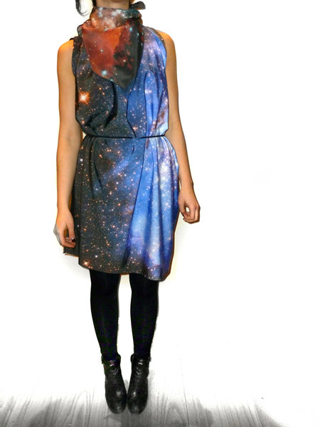 Nebula dress, small magellanic cloud.