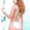 Revel rey holstein bikini bottom - white lush