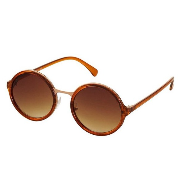sunglasses round round sunglasses round face sunglasses brown, orange, hipster