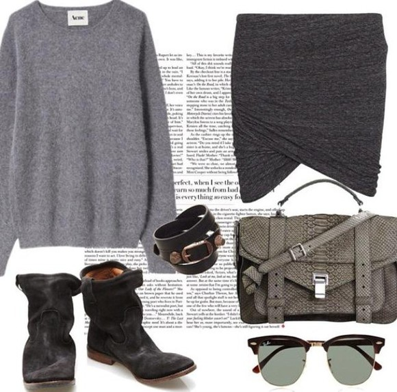 bag fashion tote bag tote skirt outfit green army print snake ray bans balenciaga acne studios sweater boots biker boots handbag purse acessories grey sweatshirt grey style collage military green military military boots bracelets sunglasses designers festival clothes shoulder bag winter sweater summer outfits