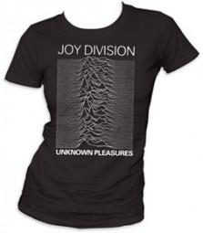 Joy division unknown pleasures juniors tee shirt