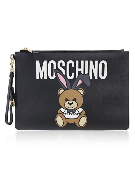 Moschino clutch black bag