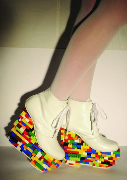 shoes platform shoes crazy design