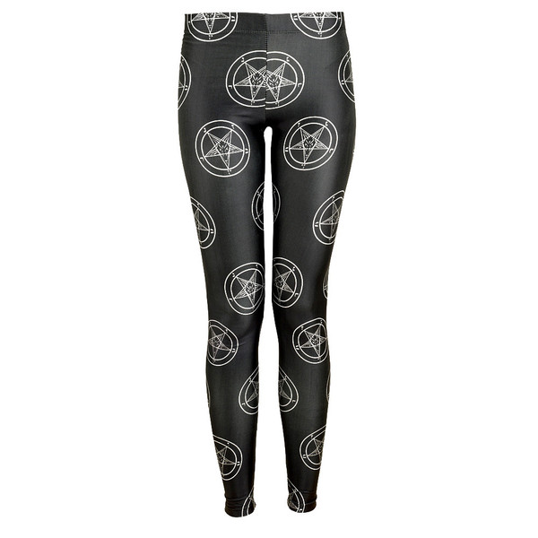 Baphomet Leggings [MULTI] | KILLSTAR