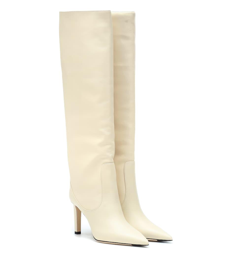 Mavis 85 leather boots