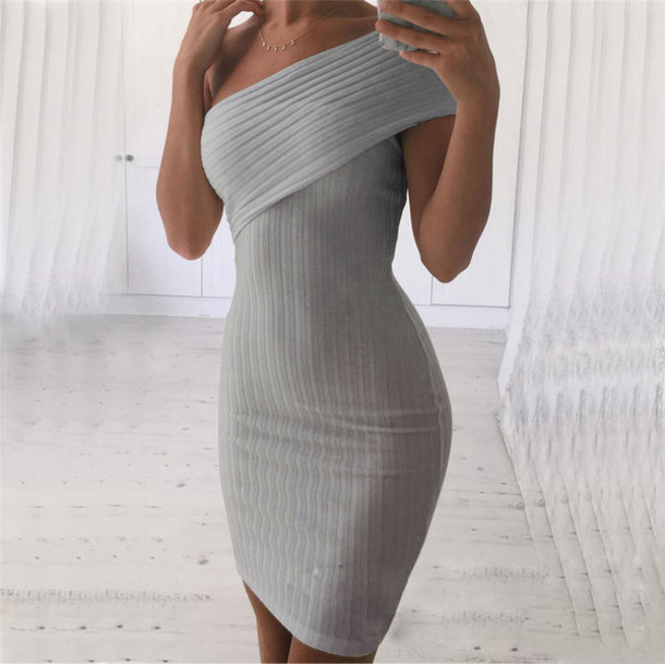 Dress Bodycon Dress Bodycon Off The Shoulder Off The Shoulder
