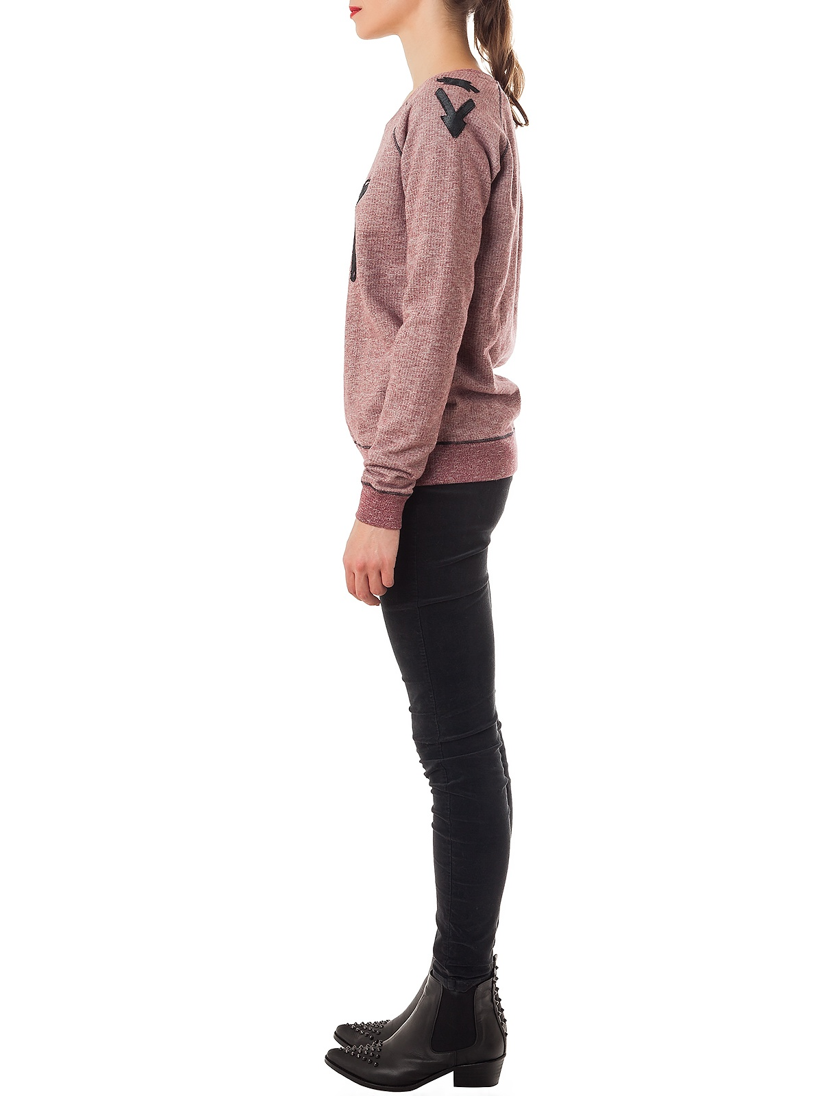 NY SWEATSHIRT PINK JUMPER | GIRISSIMA.COM - Collectible fashion to love and to last