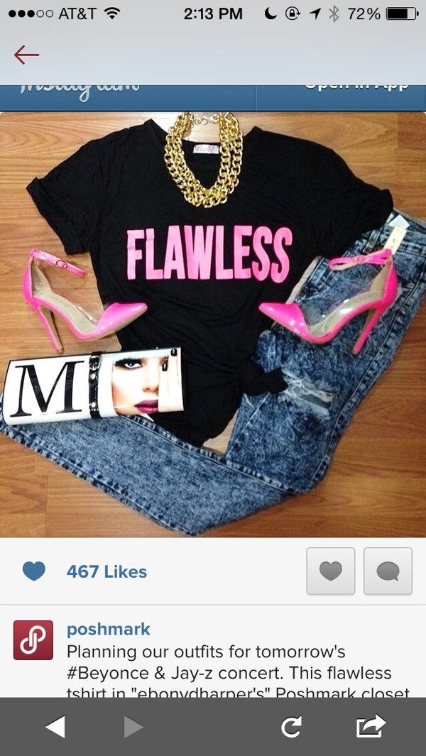 t-shirt flawsless