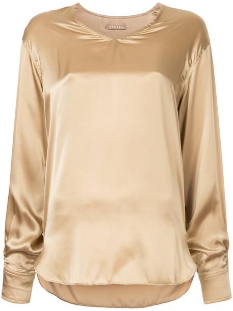 Nehera - Bardo V-neck blouse - women - Silk - 36, Silk