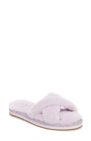276ddfc3b5b43 UGG® Abela Genuine Shearling Flip Flop (Women)