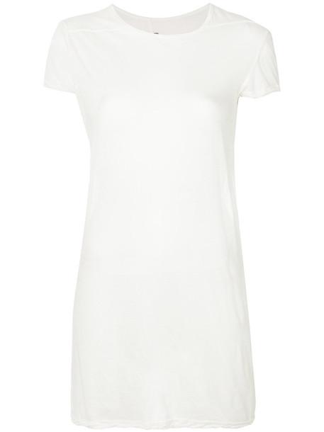 Rick Owens t-shirt shirt t-shirt long women white cotton top