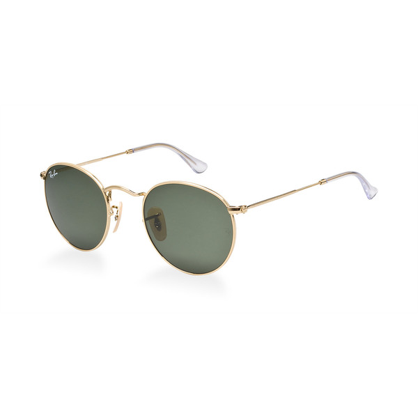 ray ban new shape round sunglasses  ray ban rb3447 50 round metal sunglasses; round shape