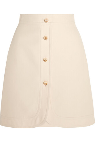 skirt mini skirt mini embellished cotton silk