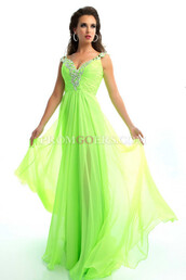 dress,chiffon dress,prom dress,green prom dress,bud green prom dress,skirt,yellow pleated skirt,flowy,midi,scarf