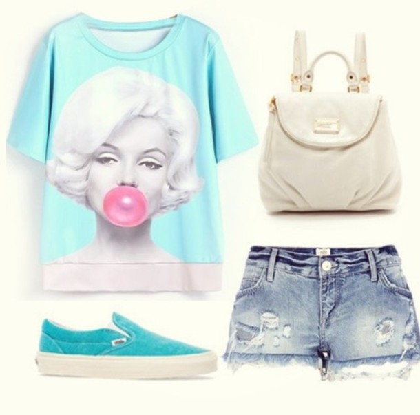 blouse light blue bluse