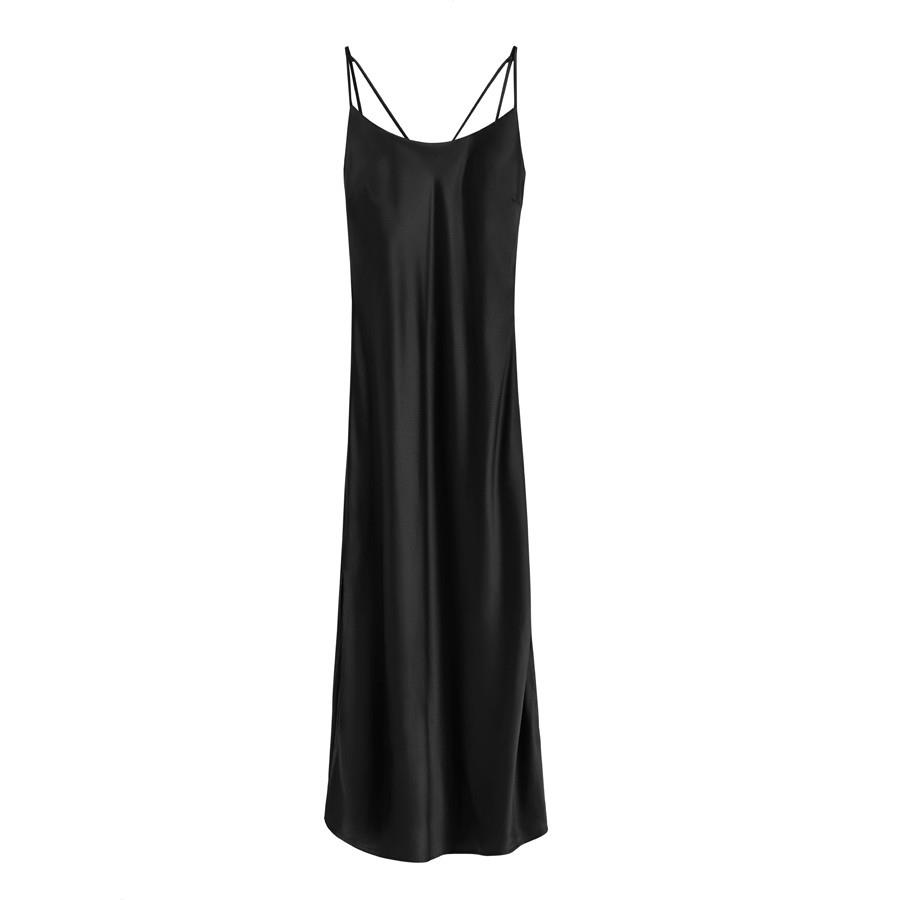 Charmeuse Slip Dress