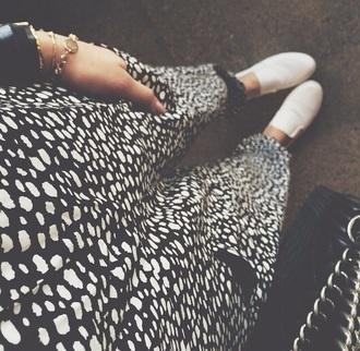 pants peyton list black white jogge spotte style fashion